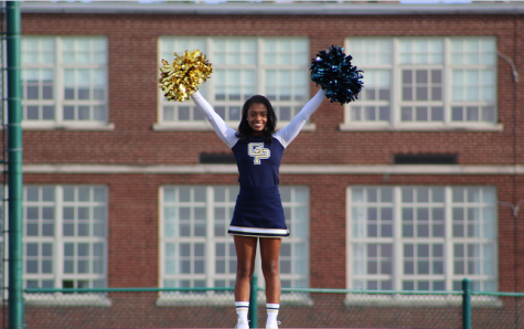 Blue Devil cheerleader makes South history