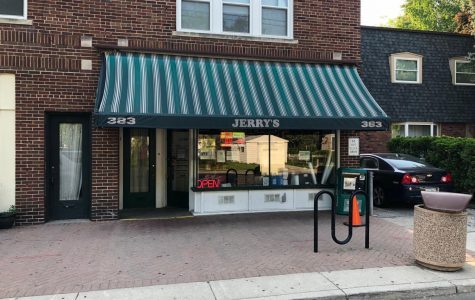 Jerry's Club Party Store in Grosse Pointe Farms. Photo courtesy of Daniel Klepp '20.