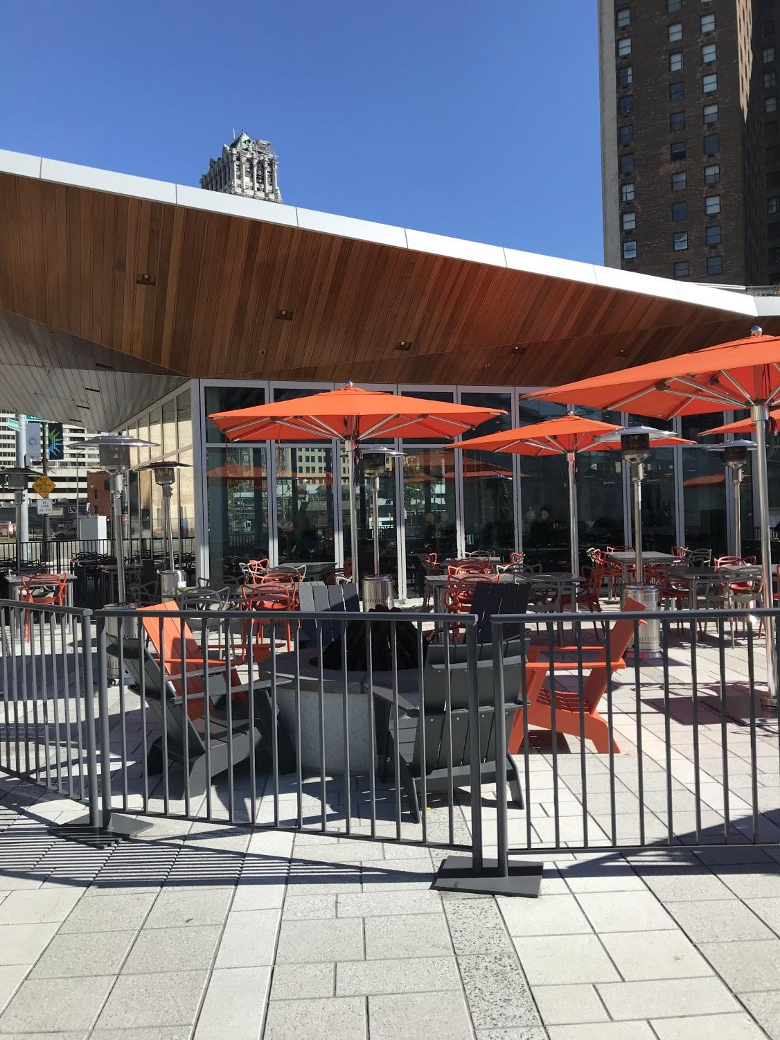 Lumen's impressive outdoor patio serves up a great experience.