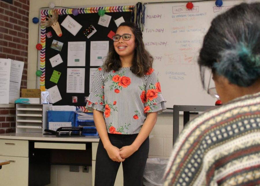 Chamiraju is the founder of a new Asian club at south, which aims to inform students about Asian cultures and promote diversity