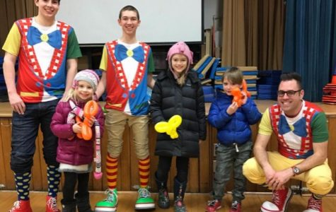 The club visited elementary after-school programs throughout the district last year to entertain and teach kids how to make balloon animals.