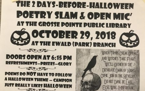 Poetry slam welcomes everyone to celebrate Halloween with them