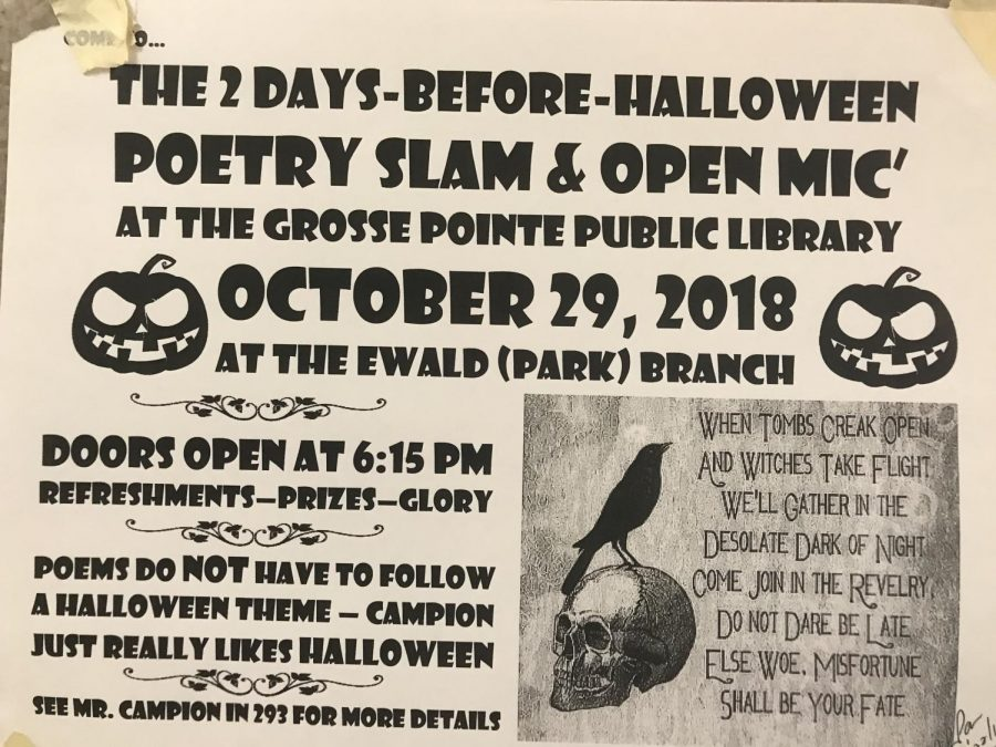 Poetry+slam+welcomes+everyone+to+celebrate+Halloween+with+them