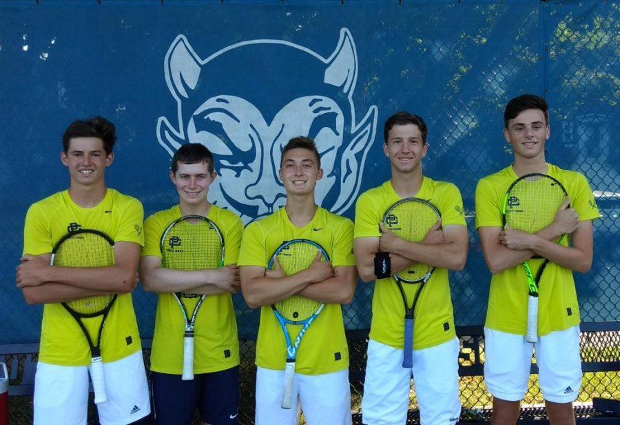 Tennis team sees record season