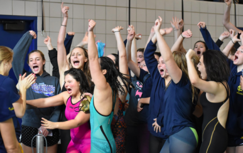 Swimming happy tears as the girls' team gears up for states