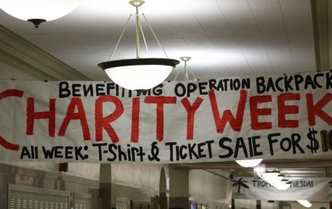 Charity Week encourages school spirit in and out of class