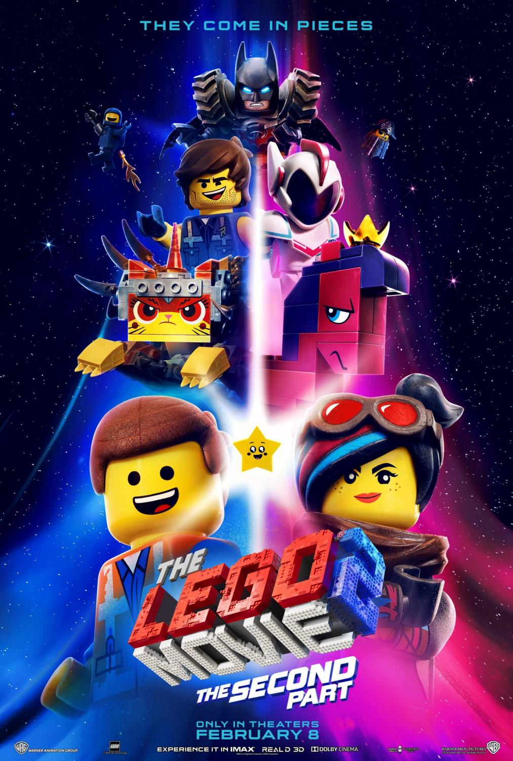 The Lego Movie 2 was released to theatres on Feb. 8. Photo courtesy of IMDB.com
