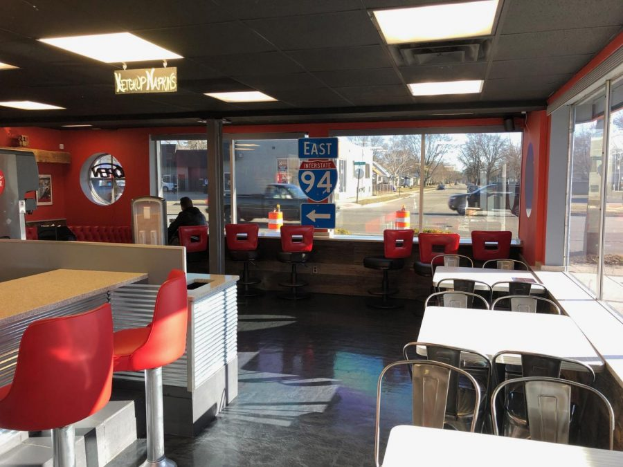 My View: Spagburger delivers on food, lacks outside appeal