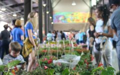Flower Day brings an abundance of Metro Detroiters downtown