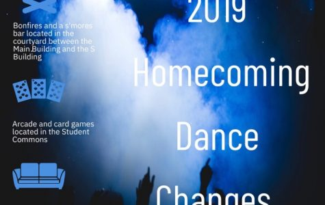 Fun new changes are coming to the Homecoming Dance on Semptember 28, 2019.
