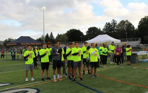 Run the Pointe photo story: Annual fun run and walk raises funds to support athletics