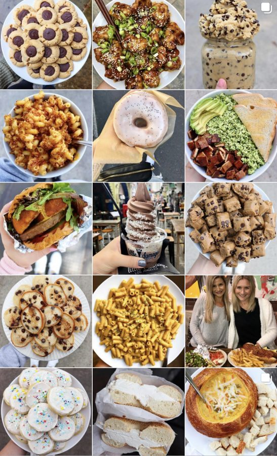 The Lynch sisters' Instagram account serves as a platform to post their recipes for vegan meals, @sixvegansisters.