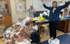 Saving the lake one bag at a time: Club far exceeds goal of collecting plastic bags to help the homeless