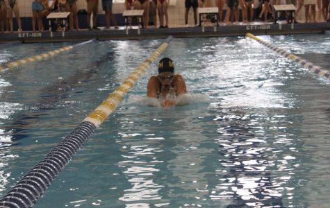 Girls swim to second at states