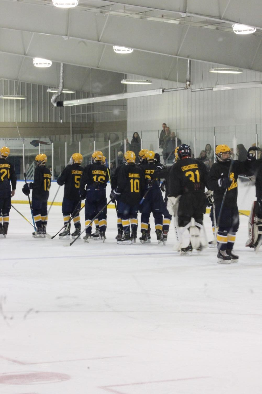 'Brr': hockey players