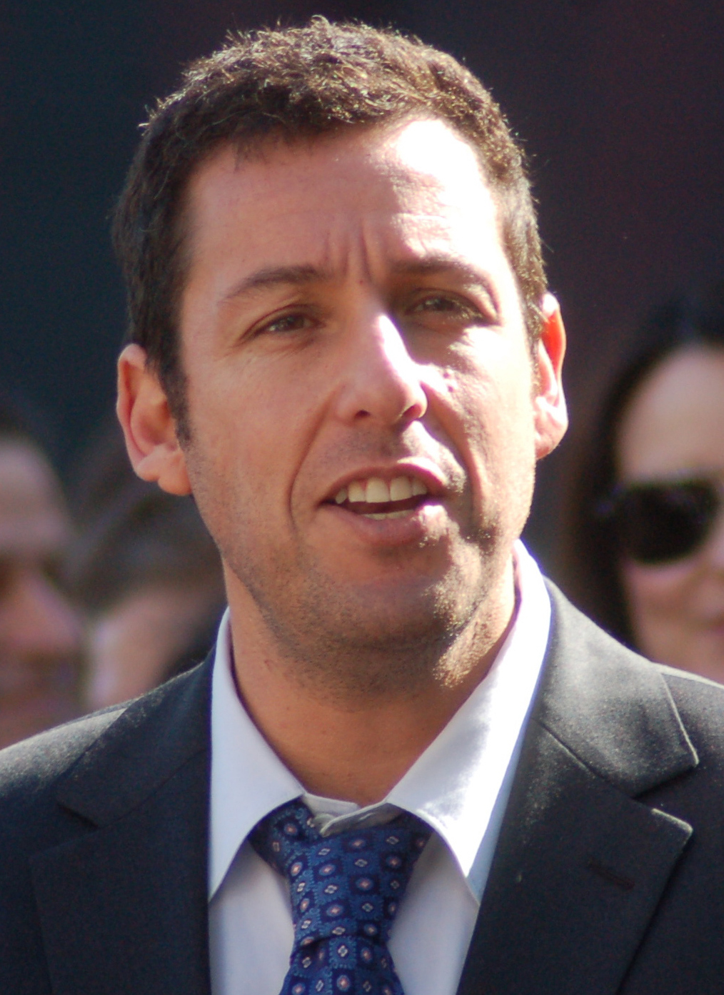 Adam Sandler shines in Uncut Gems in what may be his best career performance. Photo from Wikimedia Commons.