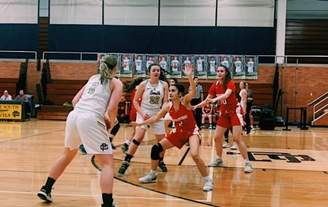 Girls' basketball team shooting for league champions