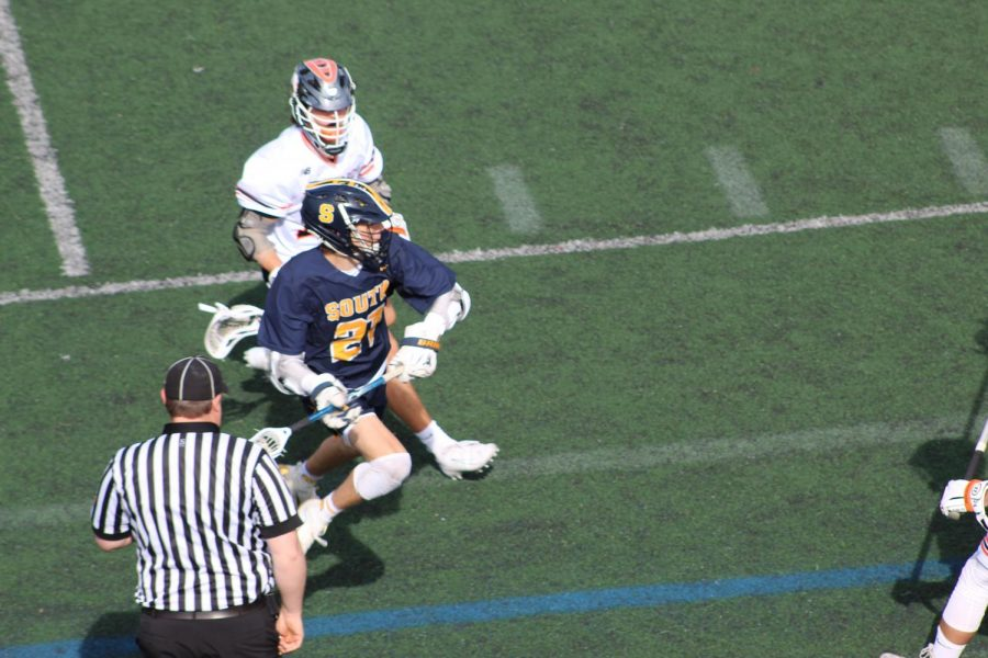 Henry Shields '21 spends his off-seasons training to get ready for South lacrosse in the spring. The season postponement carries much disappointment for those who have invested time into preparations for spring sports especially.