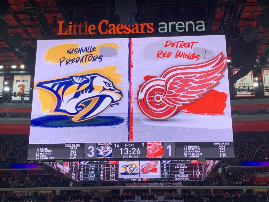 The+NHL+has+suspended+their+season+until+further+notice%2C+including+the+Detroit+Red+Wings.+Photo+by+Julia+Gebeck+%2722.