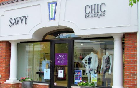 Savvy Chic is open all days of the week for anyones safe shopping pleasure. Photo courtesy of Asher Heimbuch '22.