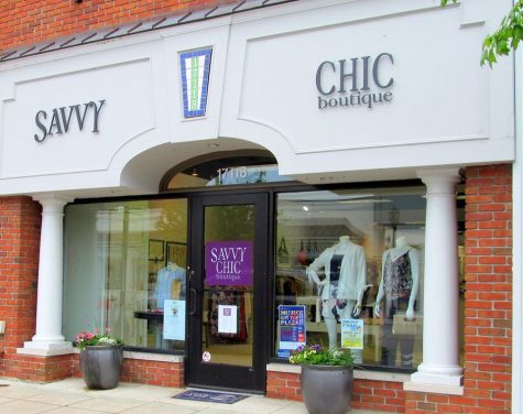 Savvy Chic is open all days of the week for anyones safe shopping pleasure. Photo courtesy of Asher Heimbuch