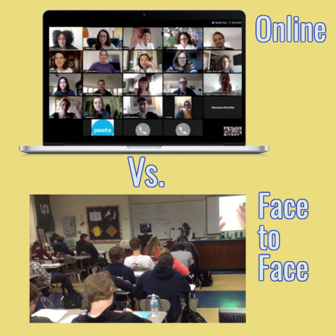 Students Choose Between Hybrid and Virtual Learning As Face to Face School Approaches