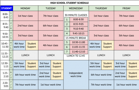 GPPSS Approves New Schedule
