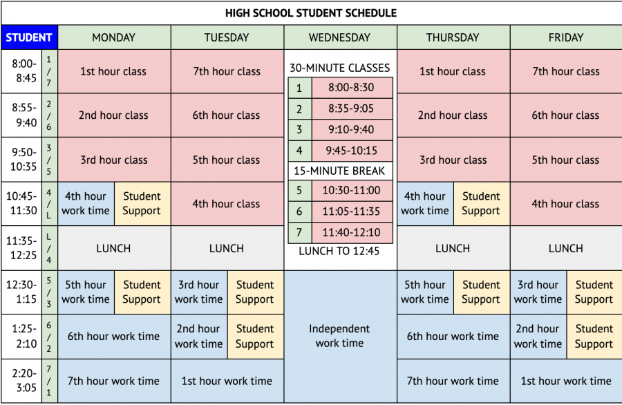 GPPSS+Approves+New+Schedule